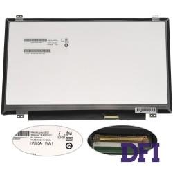 Матрица 14.0 B140RTN03.1 (1600*900, 40pin, LED, SLIM (вертикальные ушки), матовая, разъем справа внизу) для ноутбука