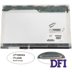 Матрица 15.4 LP154WX4-TLA9 (1280*800, 30pin, 1CCFL, NORMAL, глянцевая, разъем справа вверху) для ноутбука (renew)