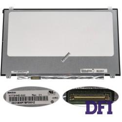 Матрица 17.3 N173HHE-G32 (1920*1080, 40pin(eDP, 120HZ), LED, SLIM(вертикальные ушки), глянец, разъем слева внизу) для ноутбука