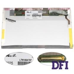 Матрица 14.0 LTN140AT07 (1366*768, 40pin, LED, NORMAL, глянцевая, разъем слева внизу) для ноутбука