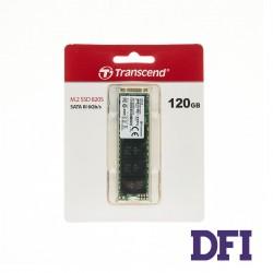 Жесткий диск M.2 2280 SSD 120Gb Transcend MTS820S Series, TS120GMTS820S, 3D TLC NAND, зап/чт. - 350/500мб/с