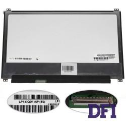 Матрица 13.3 LP133QD1-SPB2 (3200*1800, 40pin (eDP), LED, SLIM (вертикальные ушки), матовая, разъем слева внизу) для ноутбука