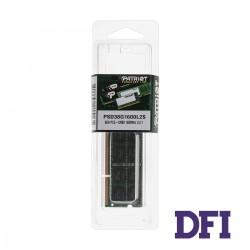 Модуль памяти SO-DIMM DDR3L 8GB 1600MHz PC-1600 Patriot Signature Line, 1.35V, CL11 (PSD38G1600L2S)