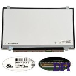 Матрица 14.0 LP140WD2-TLD4 (1600*900, 40pin, LED, SLIM (вертикальные ушки), матовая, разъем справа внизу) для ноутбука (renew)