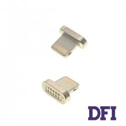 Адаптер для кабеля Clip-On Метал для iPhone , (магнитный)