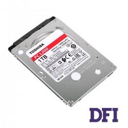 Жесткий диск 2.5 HDD 1Tb Toshiba L200, для ноутбука, 5400rpm, 128MB caсhe, SATA-III, высота - 7.0mm (HDWL110UZSVA)