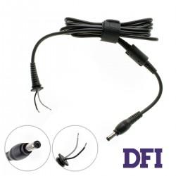 Оригинальный DC кабель питания для БП ASUS 90W 5.5x2.5мм, 2 провода (2x1мм), прямой штекер (от БП к ноутбуку)