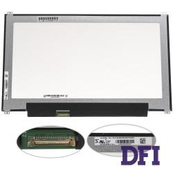 Матрица 13.3 LM133LF4L01 (1920*1080, 30pin (eDP, IPS), LED, SLIM (вертикальные ушки), матовая, разъем слева внизу) для ноутбука