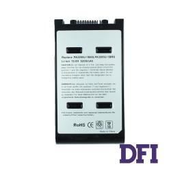 Батарея для ноутбука Toshiba PA3285 (Qosmio: A100, E10, E15, F10, F15, G10, G15, Satellite: A10, A15, A120) 11.1V 5200mAh, Black