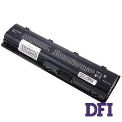 Батарея для ноутбука HP DV6 (CQ32, CQ42, CQ43, CQ56, CQ57, CQ62, G42, G56, G62, G72, G7-1000, DM4 series, DV3-4000, DV5-1200, DV5-2000, DV6-3000, DV6-6000, DV7-4000 series) 10.8V 4400mAh Black