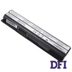 Батарея для ноутбука MSI BTY-S14 (FX400, FR600, FX600, FX603, FX610, FX610MX, FX620, GE620, GE620DX, CR650, FR700, FX700, FX720) 11.1V 4400mAh Black