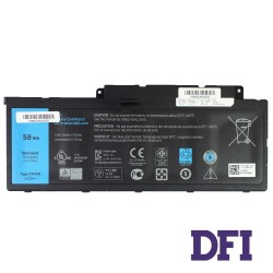 Батарея для ноутбука Dell F7HVR (Inspiron 14 7437, 15 7537, 17 7737) 14.8V 58Wh Black