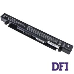 Батарея для ноутбука Asus A41-X550A (X450, X550 series) 14.4V 2200mAh Black (Совместима с A41-X550A 15V 2950mAh)