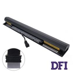 Оригинальная батарея для ноутбука Lenovo L15S4A01 (Короткий кабель!!! IdeaPad 100-15IBD, 110-15ISK, 300-15IBR, 300-15ISK, 300-17ISK) 14.4V 2200mAh Black
