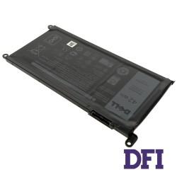Оригинальная батарея для ноутбука Dell WDX0R (Inspiron: 15 5568, 13 5368, 13 5378) 11.4V 3500mAh 42Wh Black