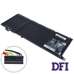 Оригинальная батарея для ноутбука Dell JD25G (XPS: 13 9343, 9350) 7.4V 7020mAh 52Wh Black