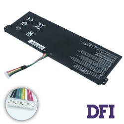 Батарея для ноутбука Acer AC14B8K (Aspire: E5-771, ES1-511, V3-371 series) 15.2V 2200mAh, Black
