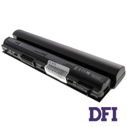 Батарея для ноутбука Dell FRR0G (разьём по центру!!!) (Latitude: E6220, E6230, E6320, E6330, E6430s, E5220) 11.1V 4400mAh Black