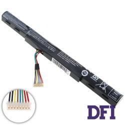Батарея для ноутбука Acer ASPIRE AL15A32 (F5-572G, V3-575G, E5-574G) 14.8V 1800mAh 27Wh Black