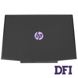 Крышка дисплея для ноутбука HP (Pavilion: 15-CX), black (purple logo) ОРИГИНАЛ