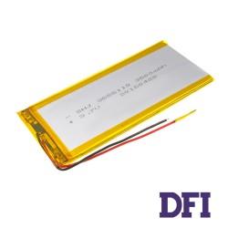 Батарея для планшета SHJ 3555110 3.7V 3500mAh (3.5mm*55mm*110mm)