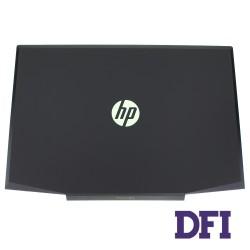 Крышка дисплея для ноутбука HP (Pavilion: 15-CX), black (green logo), ОРИГИНАЛ