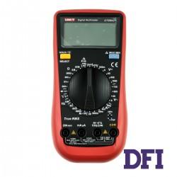 Цифровой Мультиметр UNI-T UT890C+ True RMS с автоматическим выбором диапазонов (600mV-1000V, 60mА-20A, 600Ом-60МОм, 6нФ-100мФ, 10Гц-10Мгц, проверка диодов, измерение температуры (-40...1000 С))