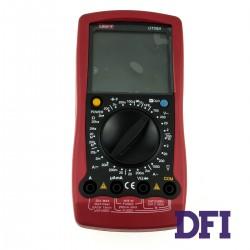 Цифровой Мультиметр UNI-T UT58A True RMS с ручным выбором диапазонов (200mV-1000V, 20мкА-20A, 200Ом-200МОм, 2нФ-100мФ, проверка диодов)