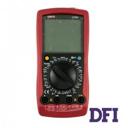 Цифровой Мультиметр UNI-T UT58D True RMS с ручным выбором диапазонов (200mV-1000V, 20мкА-20A, 200Ом-20МОм, 2нФ-100мФ, 2мГн-20Гн, проверка диодов)