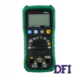 Цифровой Мультиметр MASTECH MS8239C True RMS с автоматическим выбором диапазонов (400mV-600V, 400мкА-10A, 400Ом-40МОм, 5нФ-100мкФ, 10Гц-10МГц, проверка диодов, измерение температуры (-20...1000 С))