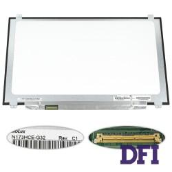 Матрица 17.3 N173HCE-G32 (1920*1080, 40pin(eDP, 120HZ), LED, SLIM(вертикальные ушки), матовая, разъем слева внизу) для ноутбука