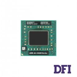 Процессор AMD A6-4400M (Trinity, Dual Core, 2.7-3.2Ghz, 1Mb L2, TDP 35W, Radeon HD 7520G, Socket FS1r2) для ноутбука (AM4400DEC23HJ)