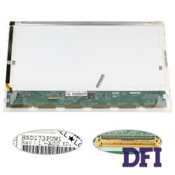 Матрица 17.3 HSD173PUW1 (1920*1080, 40pin, LED, NORMAL, глянец, разъем слева внизу) для ноутбука