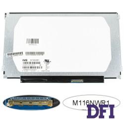 Матрица 11.6 M116NWR1 R3 (1366*768, 40pin, LED, SLIM (горизонтальные ушки), матовая, разъем справа внизу) для ноутбука