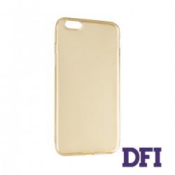 Чехол REMAX Защитный , прозрачный , прорезиненный , для iPhone 6 Plus / 6S Plus , золотистый