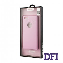 Чехол REMAX Книжка , кожа ,  для iPhone 6 / 6S , розовый