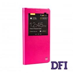 Чехол REMAX Книжка , ультратонкий , для SAMSUNG Note 5 , розовый
