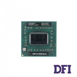 Процессор AMD A4-4300M (Trinity, Dual Core, 2.5-3.0Ghz, 1Mb L2, TDP 35W, Radeon HD7420G, Socket FS1r2) для ноутбука (AM4300DEC23HJ)