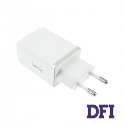 Зарядное устройство Hoco C42A , 1USB , 3.1A , белый , QC3.0