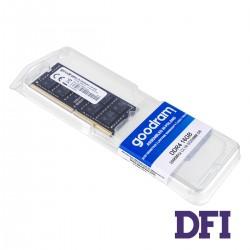 Модуль памяти SO-DIMM DDR4 16GB 2666MHz PC4-21300 Goodram, 1.2V, CL16 (GR2666S464L19/16G)
