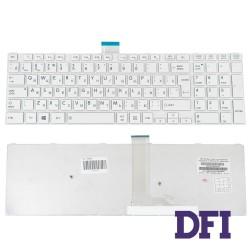 Клавиатура для ноутбука TOSHIBA (L50D, L55) rus, white