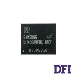 Микросхема Samsung KLMCG8WEBC-B031 для ноутбука