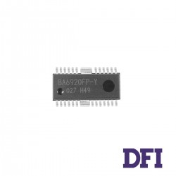 Микросхема Rohm Semiconductor BA6920FP-Y для ноутбука